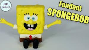 Fondant Spongebob Cake Topper How To Make Spongebob Figurine Diy