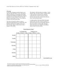 Behavior Modification Charts For Parents 42 Free Behavior Chart Templates Templates Bash