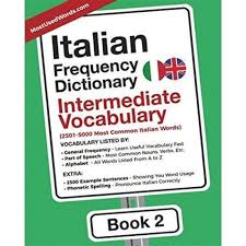 Double letters sound stronger and more stressed than single ones. Kindleitalian Frequency Dictionary Intermediate Vocabulary 2501 5000 Most Common Italian Words Italian English Band 2