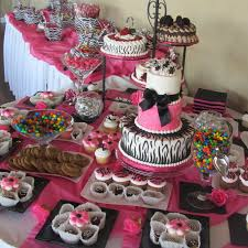 Elegant Party Decorations Inexpensive Table Decorations Chocolate Party Pink Themed