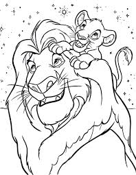 Small Picture Lion King 2 Coloring Pages The Lion King Coloring Pages Disney