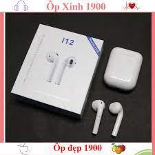Tai Nghe Bluetooth i12 TWS Cảm Biến