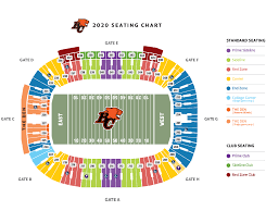 Bc Place Interactive Seating Chart Bc Place Seating Chart Bc Lions