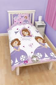 Sofia The First Bedroom Accessories Disney Princess Sofia The First Amulet Single Duvet Cover Bed Set