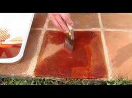 how to stain patio pavers you