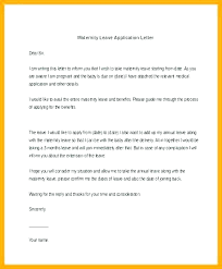 Application Email Template Vacation Leave Email Template