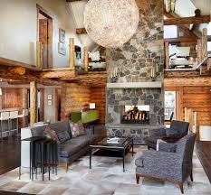 Log Cabin Living Room Decor Log Cabin Living Room Ideas Living Room Traditional With Ski