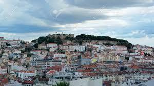 Blick über Die Hauptstadt Von Portugal, Lissabon Lizenzfreie Fotos, Bilder  Und Stock Fotografie. Image 47095292.