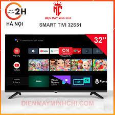 Smart tivi Asanzo Islim 32 inch - 32S51 chạy android tv 9.0 - Tivi