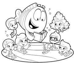 Small Picture Pictures Bubble Guppies Color 74 On Download Coloring Pages with