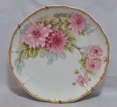 limoges elite works patterns limoges france elite works hand painted floral pattern plate