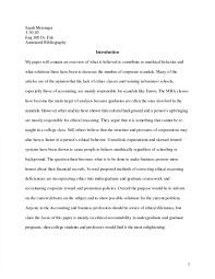 007 Essay Example Bibliographic Sample Annotated Bibliography