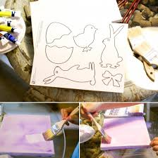 painting on canvas templates