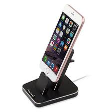 iphone dock aluminum iphone desk charger stand dock station holder for iphone x 8