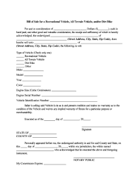 Bill Sale General Form Templates - Fillable & Printable Samples For ...