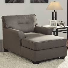 grey chaise lounge cleveland grey fabric chaise lounge chair