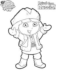 Dora Kleurplaten In Dora Kleurplaten Kleuren Dwacme