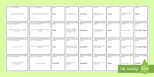 Gcse Power And Conflict Poems Quotation Matching Cards