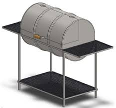 Bbq Smoker Design Plans You Can Build A 55 Gallon Drum Grill Using These Step By