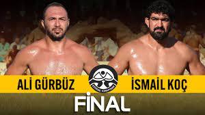 Ali Gürbüz - İsmail Koç Final | 660. Tarihi Kırkpınar Yağlı Güreşleri -  YouTube