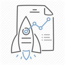 Business Launch Plan Startup Strategy Icon