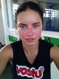 you know those pins that say something about if you look pretty after a workout you didn t work hard enough adriana lima victoria s secret model