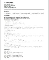 Graphic Resume Examples Formidable Graphic Designer Resume Sample ...
