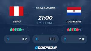 Peru - Paraguay » Live Stream & Ticker + Quoten, Statistiken, News