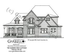 house plans with a view. Garden View Cottage House Plan 05123, Front Elevation Plans With A