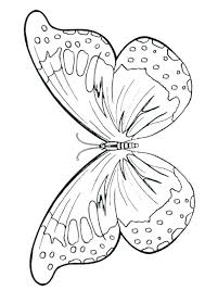Printable Butterfly Outline Butterfly Stencils Printable Butterfly Template