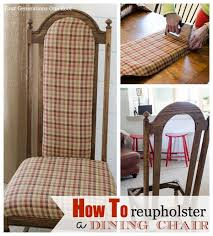 upholstered dining room chairs diy. how to reupholster a dining room chair daze best 25 recover chairs ideas on pinterest upholstered diy