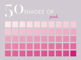 Fifty Shades Of Pink Pink Color Chart Pink Images Pink