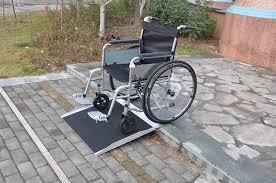 rampa para sillas