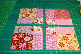 Disappearing Nine Patch Quilt Pattern & 1 example of disappearing 9 patch Adamdwight.com