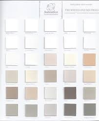 Autentico Vintage Colour Chart The Whites And Neutrals
