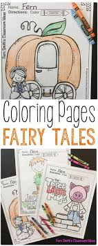 Fairy Tales Coloring Pages Princess And