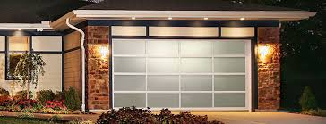 contemporary collection aluminum series home residential garage doors