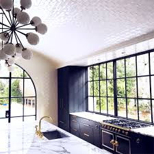 Ceiling Kitchen Arched Ceiling Tile Kitchen Remodel Home Black And Ceilings