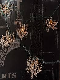 mini glass chandelier string lights designs