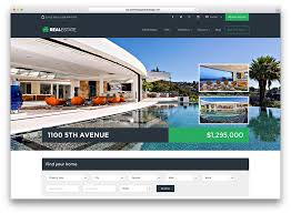 Real Estate Website Templates Gorgeous 48 Best Real Estate WordPress Themes For Agencies Realtors And