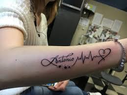 Battito Cardiaco Tattoo Tats Tatuaggi Battito Cardiaco Tatuaggi