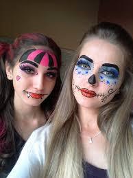 makeup 2018 pintura monster high