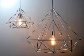 himmeli light diamond pendant cage