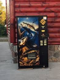 Fishing Vending Machine Interesting Live Bait Vending Machine Used Fishing Tackle Sportsman LB48 EBay