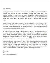 Sample Letter Of Recommendation For College Admission From Teacher Sample Recommendation Letter For Graduate School Admission Elegant