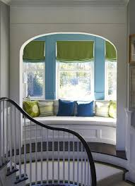 Curved Built In Window Seat