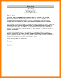 Gallery Of Safety Technician Cover Letter