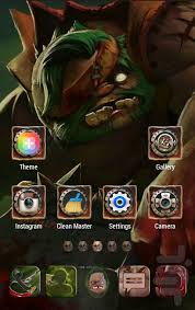 pudge dota 2 golauncher ex theme download install android apps