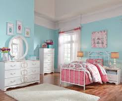 Metal Bedroom Furniture Korabella Twin Size Metal Bed B355 Ashley Kids Furniture Kids