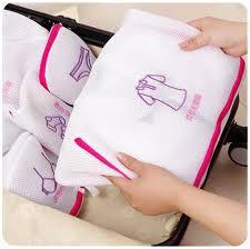 Portfolio 20 23 In W Brushed Nickel Led Flush Mount Light Zipper Laundry Washing Machine Mesh Net Wash Clothes Bag For